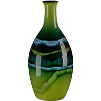 Poole Maya Tall Bottle Vase, H26cm