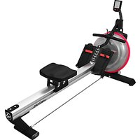 Life Fitness Row GX Trainer, Silver/Black/Red