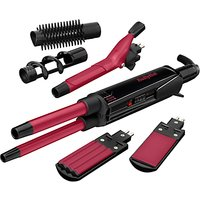 BaByliss Multi Style Hair Styler, Black/Pink