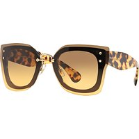 Miu Miu MU04RS Square Full Frame Sunglasses