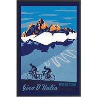 Sassan Filsoof - Giro DItalia Framed Print, 73 x 53cm