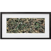 Jackson Pollock - Lucifer Framed Print, 54 x 112cm
