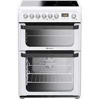 Hotpoint JLE60P Signature Electric Cooker, White