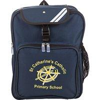 St Catherines Catholic Primary School Backpack, Navy