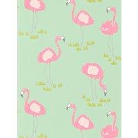 Scion Felicity Flamingo Wallpaper