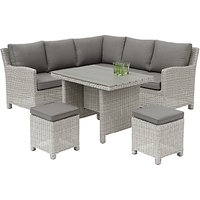 KETTLER Palma 6 Seater Garden Mini Corner Table and Chairs Set