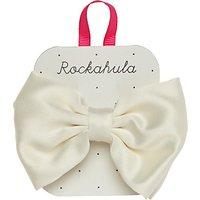 Rockahula Satin Bow Barrette Hair Clip, Ivory