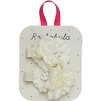 Rockahula Tallulah Flower Hair Clips, Pack of 2, Ivory