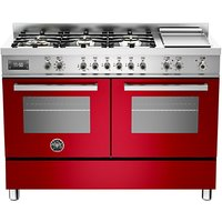 Bertazzoni Professional Series 120cm Dual Fuel Twin Range Cooker