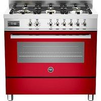 Bertazzoni Professional Series 90cm Dual Fuel Single Range Cooker