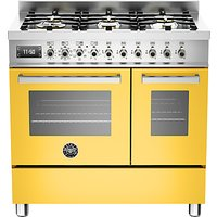 Bertazzoni Professional Series 90cm Dual Fuel Twin Range Cooker