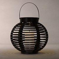 John Lewis Cabot Lattice Outdoor Solar Lantern, Medium