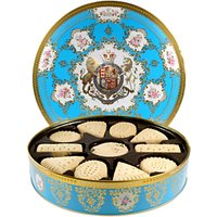 Royal Collection Coat of Arms Biscuit Tin & Scottish Baked Biscuits