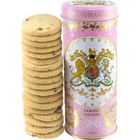 Royal Collection Georgian Shortbread Tin & Biscuits, Pink