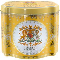 Royal Collection Georgian Tea Caddy with 50 Tea Bags (Variety), Yellow