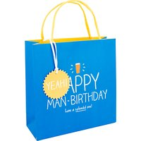 Happy Jackson Happy Man Birthday Bag, Medium