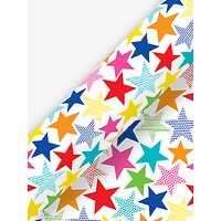 Deva Designs Party Stars Wrapping Paper, 3m