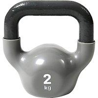 Reebok 2kg Kettlebell, Grey