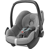 Maxi-Cosi Pebble Group 0+ Baby Car Seat, Concrete Grey