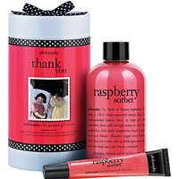 Philosophy Raspberry Thank You Bath & Body Gift Set