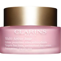 Clarins Multi-Active Day Cream, Dry Skin, 50ml