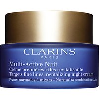 Clarins Multi Active Night Cream, Normal / Combination Skin, 50ml