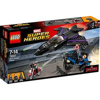 LEGO Super Heroes 76047 Marvel Captain America Black Panther Pursuit