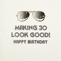 Five Dollar Shake Making 30 Look Good Birthday Card