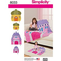 Simplicity Rag Quilts and Rag Doll Sewing Pattern, 8033