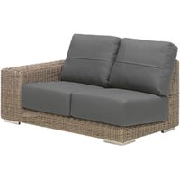 4 Seasons Outdoor Kingston Modular 2-Seater Garden Sofa, Left Hand Side
