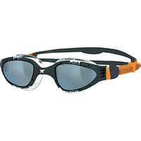 Zoggs Aqua-Flex Swimming Goggles, Orange/Black