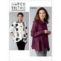 Vogue Women's Blouse Sewing Pattern, 9153