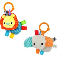 Bright Starts Friends For Me Taggies Toy