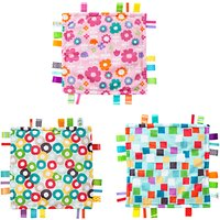 Bright Starts Little Taggies Baby Blanket, Assorted