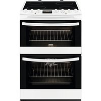 Zanussi ZCV68310WA Avanti Electric Cooker, White