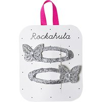 Rockahula Glitter Butterfly Hair Clip, Pack of 2