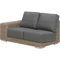 4 Seasons Outdoor Kingston Modular 2-Seater Garden Sofa, Right Hand Side