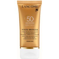 Lanc ´me Soleil Bronzer Protective Face Cream SPF 50, 50ml