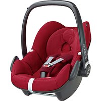 Maxi-Cosi Pebble Group 0+ Baby Car Seat, Robin Red