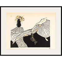 The Courtauld Gallery, Gazette du Bon Ton - No7 1920 Les Quatre Bouquets Framed Giclee Print, 40 x 50cm
