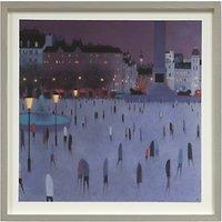 Emma Brownjohn - Dusk Walking Framed Print, 50 x 50cm