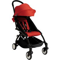 Babyzen Yoyo+ Pushchair, Black/Red
