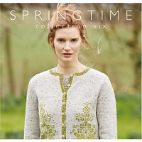 Rowan Springtime by Marie Wallin Knitting Pattern Book, Collection 6
