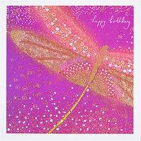 Woodmansterne Dragonfly Birthday Card