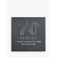 Five Dollar Shake 70 Today Birthday Card