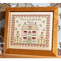 Historical Sampler Theres No Place Like Home Cross Stitch Kit, Multi