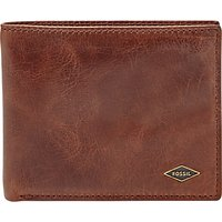 Fossil Ryan Leather Bifold Wallet, Brown