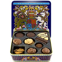 Royal Collection 'Our Longest Reigning Monarch' Chocolate Biscuits & Biscuit Tin