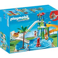 Playmobil Summer Fun Water Park With Slide