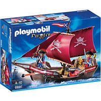 Playmobil Pirate Soldiers Patrol Boat